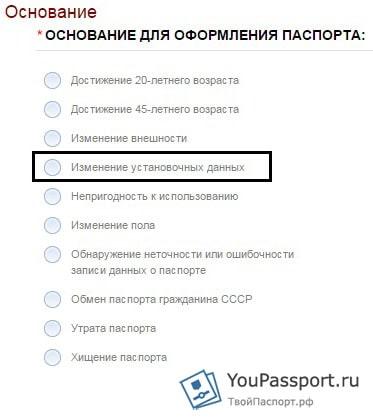 В течение какого времени надо поменять паспорт после свадьбы
