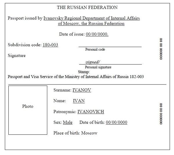 Перевод паспорта с нотариальным заверением Киев (044) 221-71 35
